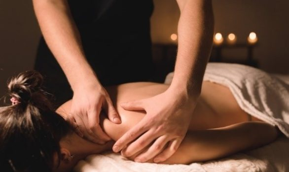 Hammam massage gommage